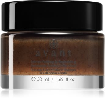 Avant Sustainable Infinite Vivifying & Replenishing Sustainable Arabica Coffee Scrub Exfoliating Face Cleanser With Extracts Of Coffee