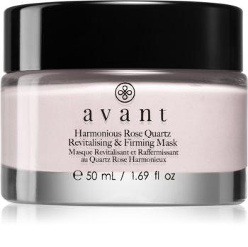 Avant Age Nutri-Revive Harmonious Rose Quartz Revitalising & Firming Mask revitalizáló maszk ránctalanító hatással