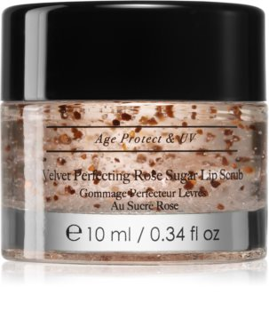 Avant Age Protect & UV Velvet Perfecting Rose Sugar Lip Scrub peeling na pery