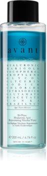 Avant Age Nutri-Revive Bi-Phase Hyaluronic Acid Rejuvenating Micellar Water agua micelar bifásica con efecto antiarrugas
