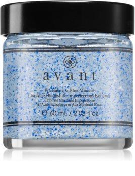 Avant Blemish Battling Pro Salicylic Blue Minerals Clarifying Blemish & Imperfections Exfoliator jemný čisticí peeling proti nedokonalostem pleti