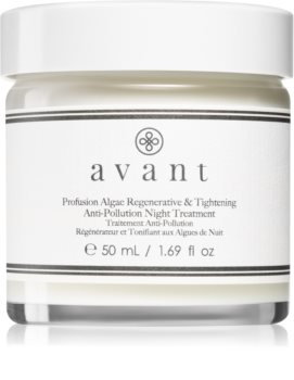 Avant Age Protect & UV Profusion Algae Regenerative & Tightening Anti-Pollution Night Treatment regeneračný nočný krém s liftingovým efektom