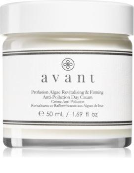 Avant Age Protect & UV Profusion Algae Revitalising & Firming Anti-Pollution Day Cream krem na dzień ochronny przed negatywnymi wpływami środowiska z efektem liftingującym