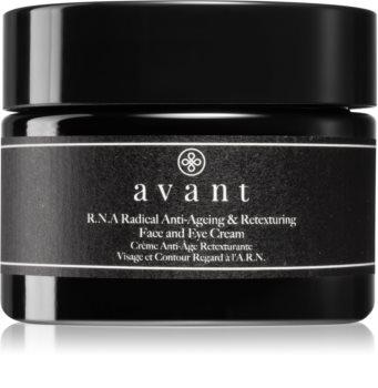 Avant Age Defy+ R.N.A Radical Anti-Ageing & Retexturing Face and Eye Cream lichte antirimpel crème  voor Gezicht en Oogcontouren