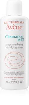Avène Cleanance Mat почистващ тоник за мазна и проблемна кожа