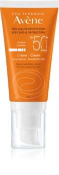 Avène Sun Sensitive crema protectora SPF 50+