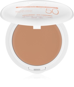 Avène Sun Minéral protector solar en maquillaje compacto sin filtros químicos SPF 50