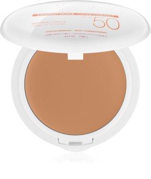 Avène Sun Minéral védő kompakt make-up kémiai szűrő mentes SPF 50