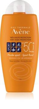 Avène Sun Sensitive protective fluid pentru sportivi