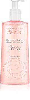 Avène Body Silkig duschgel för känslig hud