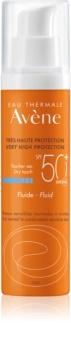Avène Sun Sensitive schützendes Fluid für normale und gemischte Haut SPF 50+