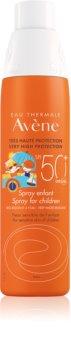 Avène Sun Kids opaľovací sprej pre deti SPF 50+