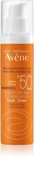 Avène Sun Sensitive ochranný tónovací krém na tvár SPF 50+