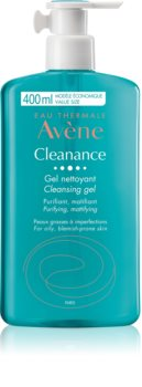 Avène Cleanance Reinigingsgel voor Vette Huid met Acne Neiging