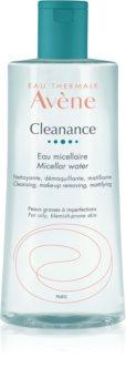 Avène Cleanance apa pentru curatare cu particule micele pentru tenul gras, predispus la acnee
