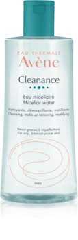 Avène Cleanance Cleansing Micellar Water For Oily Acne - Prone Skin