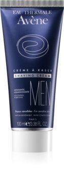Avène Men крем за бръснене  за чувствителна кожа на лицето