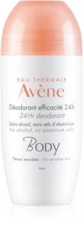 Avène Body Roll-On Deodorant  för känslig hud