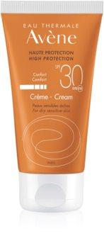 Avène Sun Sensitive крем для засмаги SPF 30