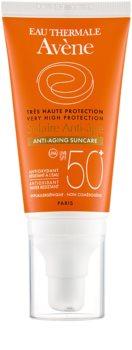 Avène Sun Anti-Age zaščitna krema za obraz proti gubam SPF 50+