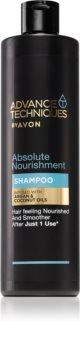 Avon Advance Techniques 360 Nourishment питательный шампунь с марокканским аргановым маслом для всех типов волос