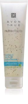 Avon True NutraEffects нежен пилинг на кожата за нормална към суха кожа