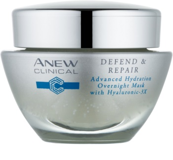 Avon Anew Clinical mascarilla de noche hidratante  con efecto regenerador