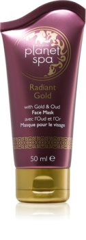Avon Planet Spa Radiant Gold máscara peeling para pele desgastada