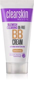 Avon Clearskin  Blemish Clearing creme hidratante com cor  para pele problemática