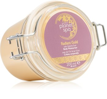 Avon Planet Spa Radiant Gold creme corporal iluminador