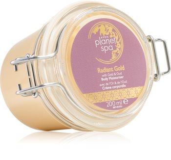 Avon Planet Spa Radiant Gold rozjasňující tělový krém