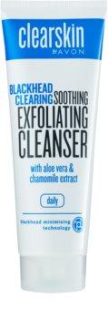 Avon Clearskin  Blackhead Clearing oczyszczający peeling żelowy przeciw zaskórnikom