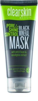Avon Clearskin  Pore & Shine Control máscara de limpeza profunda com efeito matificante