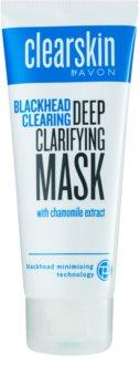 Avon Clearskin  Blackhead Clearing maseczka głęboko oczyszczająca przeciw zaskórnikom