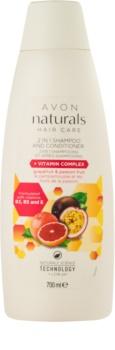 Avon Naturals Hair Care Hiustenpesu- Ja Hoitoaine 2 in 1