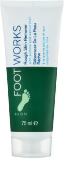Avon Foot Works Classic crema esfoliante per i piedi