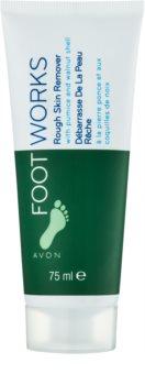 Avon Foot Works Classic crème exfoliante pieds