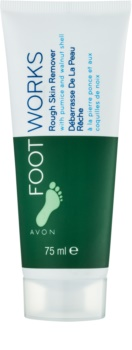 Avon Foot Works Classic krem peelingujący do nóg