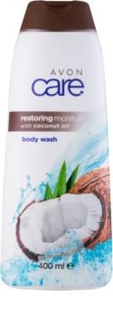 Avon Care nawilżający żel pod prysznic Z olejkiem kokosowym.