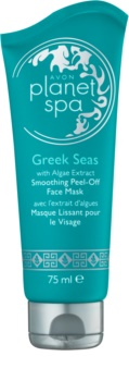 Avon Planet Spa Greek Seas luščilna maska za obraz z gladilnim učinkom