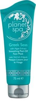 Avon Planet Spa Greek Seas mascarilla facial peel-off  con efecto alisante