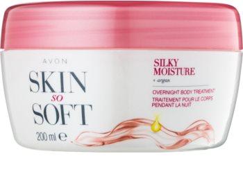 Avon Skin So Soft Silky Moisture Night Body Cream