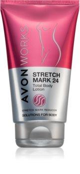 Avon Works Kroppslotion För att behandla bristningsmärken