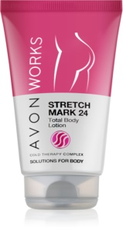 Avon Works leite corporal para eliminar as estrias