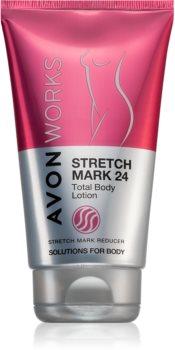 Avon Works тоалетно мляко за тяло против стрии