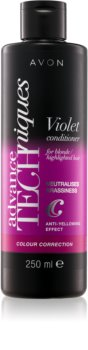 Avon Advance Techniques Colour Correction balsam de par violet pentru parul blond cu suvite