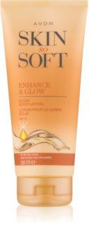 Avon Skin So Soft Brun-utan-sol-mjölk SPF 15