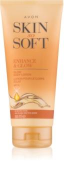 Avon Skin So Soft mleczko samoopalające SPF 15