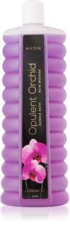 Avon Bubble Bath Opulent Orchid badschuim met de geur van orchideeën