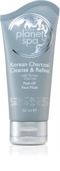 Avon Planet Spa Korean Charcoal Cleanse & Refine Abziehtuch-Gesichtsmaske mit Aktivkohle